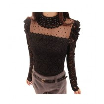 Fashion Style Tops For Women Black (0007)
