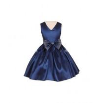 FashionValley Elegant Champagne Designer Frock For Baby Girl (0098)