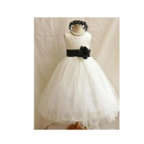 FashionValley Flower Party Frock For Baby Girl (0105)