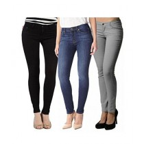 Feeha Store Denim Jeans For Women Pack Of 3 (0026)