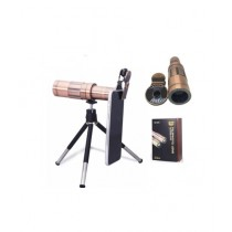 Ferozi Traders Mini Flexible Tripod Phone 20x Zoom Telephoto Lens & Clip (0168)