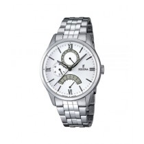 Festina Classic Men's Stainless Steel Watch Silver (F16822/1)