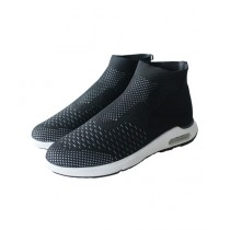 Fircos Casual Shoes For Men Black/White (1749)