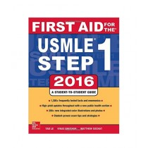 First Aid for the Usmle Step 1 Guide Book 2016
