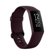 Fitbit Charge 4 Fitness Tracker Rosewood - Small/Large Bands Included