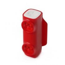 FlipBelt Million Mile Light Red LED Red/White