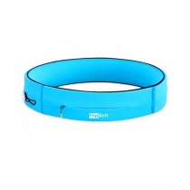 FlipBelt Zipper Pocket Exercise Belt Aqua