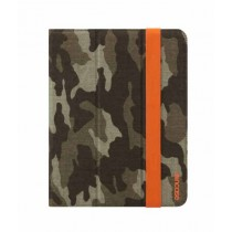 Incase Canvas Maki Jacket Case for iPad Forest Camo and Orange