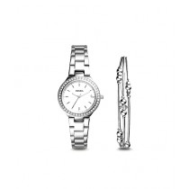 Fossil Blane Women's Watch With Bracelet Silver (ES4336SET)