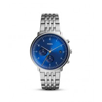 Fossil Chase Timer Men's Watch Silver (FS5542)
