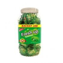 Fresh up Spearmint Bubble Gum Jar - Pack of 145 (Rs 2/- Per Piece)