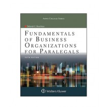 Fundamentals of Business Organizations for Paralegals Book 5th Edition
