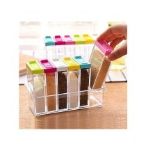 G-Mart Acrylic Spices Jar Set 6 Pcs