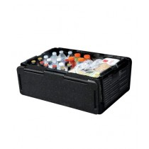 G-Mart Chill Chest Cooler Car Insulated Box Black (0015)