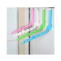 G-Mart Plastic Drying Clothes Holder Storage Rack