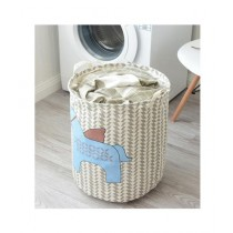 G.Mart Folding Horse Pattern Hamper Laundry Basket