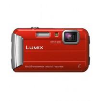 Panasonic Lumix DMC-TS30 Digital Camera Red