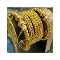 Gem And Jewelry Artificial Bangle For Women Gold