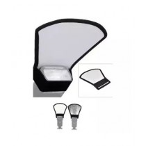 GEonline Flash Diffuser Universal 2 In 1 Bounce Reflector