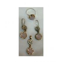 Gilgit Bazaa Antique Stone Jewelry Set (GB92)