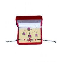 Gilgit Bazaa Ruby Jewelry Set (GB393)