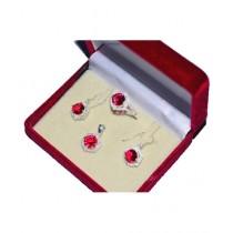 Gilgit Bazaa Ruby Jewelry Set (GB398)