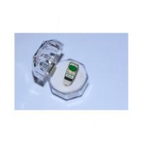 Gilgit Bazar Aqeeq Stone Ring For Men Green (GB485)