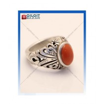 Gilgit Bazar Marjan Stone Ring For Men (GB1209)