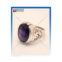 Gilgit Bazar Sapphire Stone Ring For Men (GB1208)