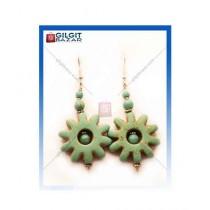 Gilgit Bazar Feroza Earring For Women's Green (GB1061)