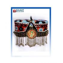 Gilgit Bazar Traditional Ladies Hand Made Cap (GB1022)