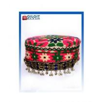 Gilgit Bazar Traditional Ladies Hand Made Cap (GB1023)