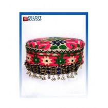 Gilgit Bazar Traditional Ladies Hand Made Cap (GB1024)