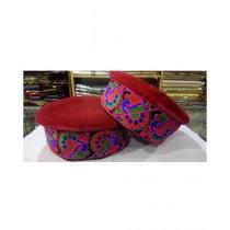 Gilgit Bazar Traditional Ladies Hand Made Cap (GB529)