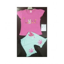 Global IT Fancy Suit For New Born Baby Pink