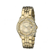 Guess Crystal-Accented Women's Watch Two-Tone (U85110L1)