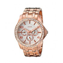 Guess Polished Glamour Women's Watch Rose Gold (U0147L3)