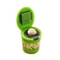 Hakimi Steel Mini Garlic Chopper Green
