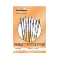 Hamdan Mart Chopsticks Flower Design bamboo 20 Sticks