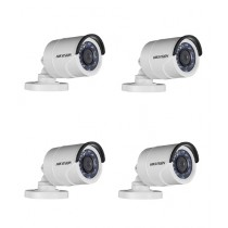 Hikvision 720P HD IR Bullet Camera Pack of 4 (DS-2CE16C0T-IRP)