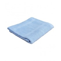 Home N Baby Cellular Breathable Blanket Blue