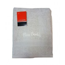 Home & Bath Pierre Cardin Towels Silver Pack of 2 (031)
