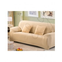 Home N You 3 Seater L Shape Stretch Sofa Cover With Soft Couch Pink