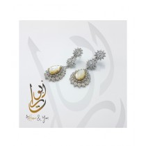 Home N You Ear Rings For Women Silver (0110)