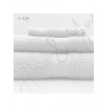 Home N You Fade Resistant Bath Towel White Pack Of 3