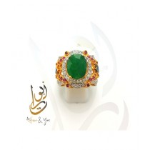 Home N You High Quality Rings Green (0144)