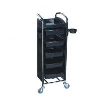 Hongda Hairdressing Trolley Black (HD-168A)