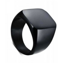 Hoorya Collection Fingers Ring For Men Black
