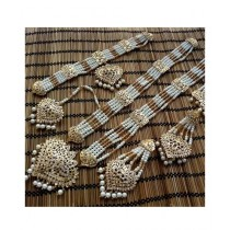 Hoorya Collection Gold Plated Zarcon Jewelry Set (0019)