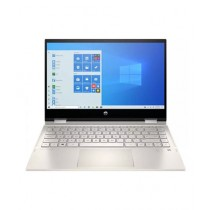 "HP Pavilion x360 14"" Core i5 11th Gen 8GB 256GB SSD Laptop Gold (14M-DW1023DX) - Without Warranty"